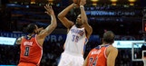 Thunder back at .500 with Durant leading win over Wizards