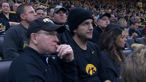Ashton Kutcher - Iowa Hawkeyes