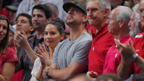 Aaron Rodgers & Olivia Munn - Wisconsin Badgers