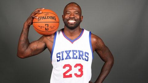 Jason Richardson, Philadelphia 76ers. Salary: $6,601,125