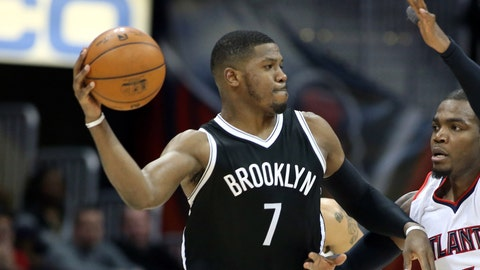 Brooklyn Nets - Joe Johnson, Age: 34