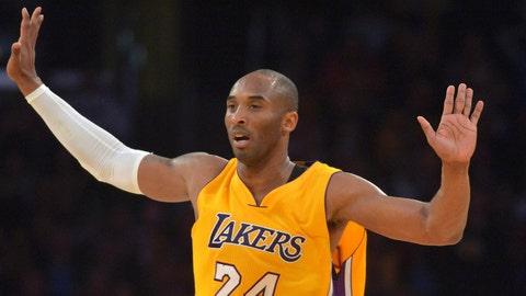 Los Angeles Lakers - Kobe Bryant, $25,000,000