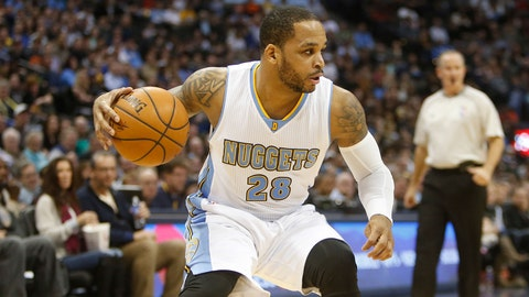 Jameer Nelson, Denver Nuggets. Age: 33