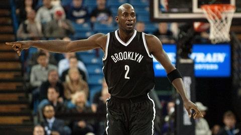 Kevin Garnett, Brooklyn Nets. Age: 38