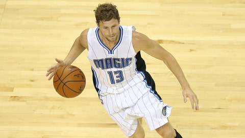 Luke Ridnour, Orlando Magic. Age: 33