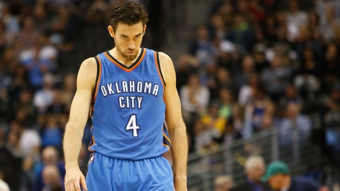 Nick Collison, Oklahoma City Thunder. Age: 34