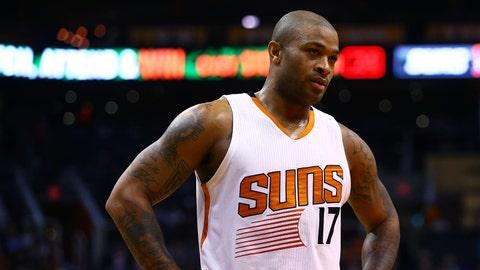 P.J. Tucker, Phoenix Suns. Age: 29