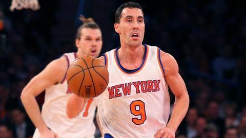 Pablo Prigioni, New York Knicks. Age: 37