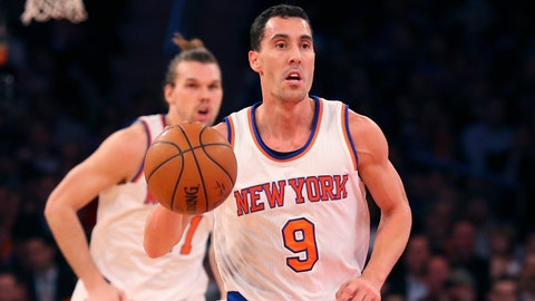 Pablo Prigioni, New York Knicks. Age: 37