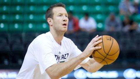 Steve Novak, Utah Jazz. Age: 31