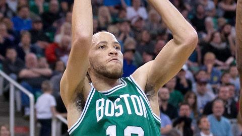Tayshaun Prince, Boston Celtics. Age: 34