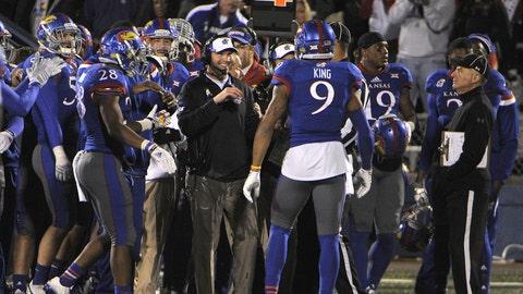 Kansas: 12-48 (3-41) Bowl record: 0-0