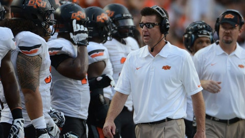 Oklahoma State: 48-17 (30-14) Titles: 1. Bowl record: 4-1