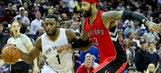 Pelicans erase 18-point hole, beat Raptors