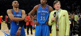 Westbrook welcomes Sager back in return to reporting
