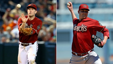 Arizona Diamondbacks: 2B Aaron Hill/SP Trevor Cahill