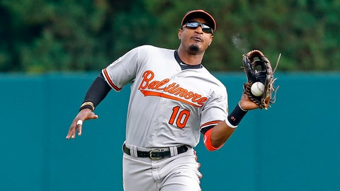 Baltimore Orioles: CF Adam Jones