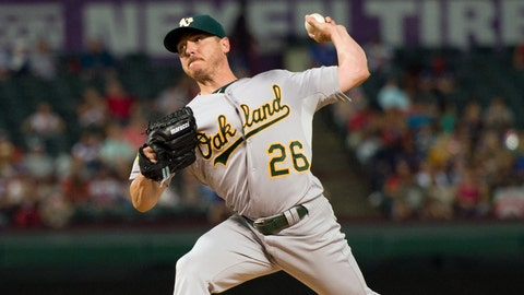 Oakland Athletics: SP Scott Kazmir
