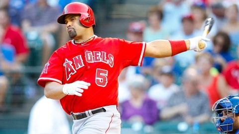 Los Angeles Angels: 1B Albert Pujols