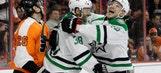 Fiddler scores winning goal in Stars win over Flyers