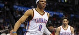 Russell Westbrook looks to become fourth point guard to claim scoring title