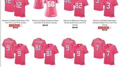 Pink Jerseys