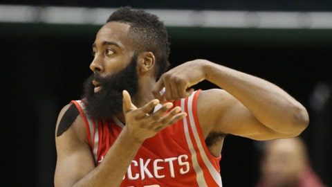 James Harden, SG, Houston Rockets