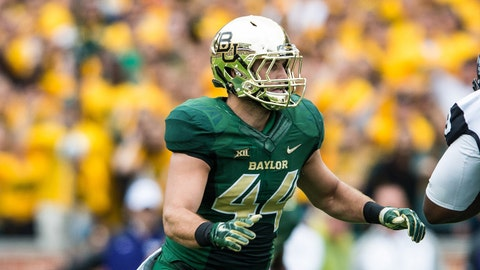 Baylor: Bryce Hager, LB