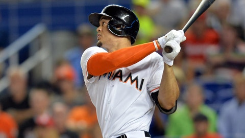 National League MVP: Giancarlo Stanton