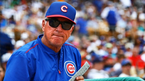 National League Manger of the Year: Joe Maddon