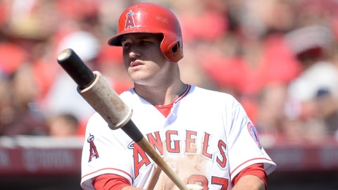 Mike Trout, CF, Angels