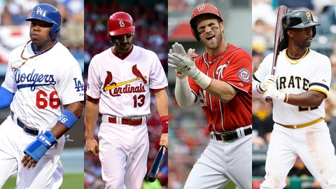 NLDS: Dodgers over Cardinals, Nationals over Pirates