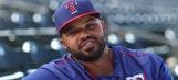 Prince Fielder foul ball destroys Rangers fan's nachos