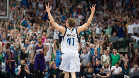 Dirk Nowitzki, PF, Dallas Mavericks