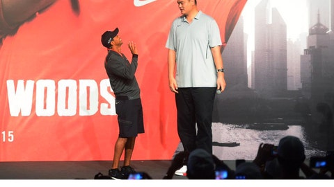 Yao Ming vs. Tiger Woods
