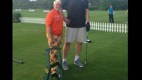 Yao Ming vs. John Daly