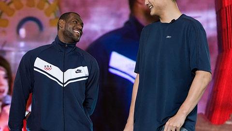 Yao Ming vs. LeBron James