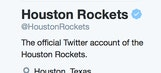 Mavs' Twitter takes high road after Rockets' Twitter takes cheap 'shot'