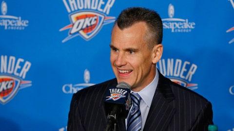 9. Billy Donovan leaves Florida Gators for NBA's Oklahoma City Thunder