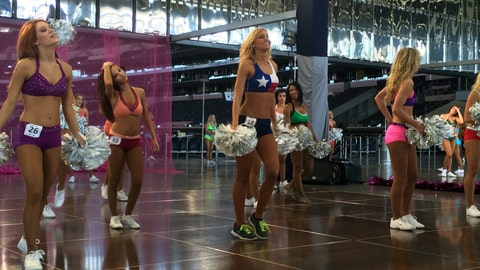 Behind the Scenes at Dallas Cowboys Cheerleader Auditions