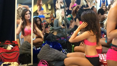 Behind the Scenes at Dallas Cowboys Cheerleaders Auditions