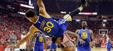 Stephen Curry leaves Game 4 with head contusion