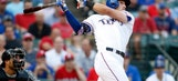 Gallo lives up to hype in Rangers debut