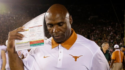 Charlie Strong, Texas