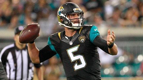 Jacksonville Jaguars: Blake Bortles, Age 23