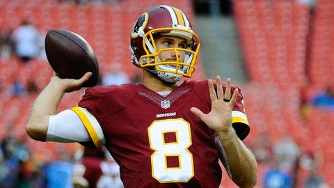 Washington Redskins: Kirk Cousins, Age 27
