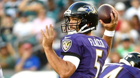 Baltimore Ravens: Joe Flacco, Age 30