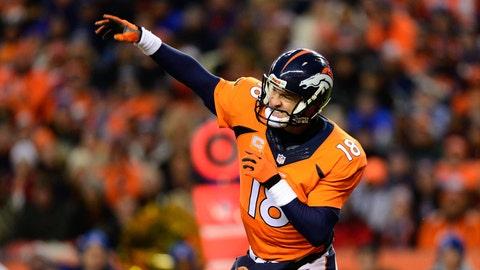 Denver Broncos: Peyton Manning, Age 39