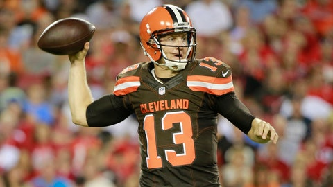 Cleveland Browns: Josh McCown, Age 36