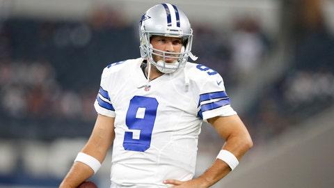 Dallas Cowboys: Tony Romo, Age 35